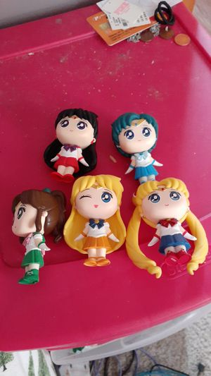 Sailor moon and the sailor scouts including rini for Sale in Sterling Heights, MI