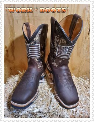 🛠🛠BOTAS DE TRABAJO 🛠🛠 for Sale in Dallas, TX