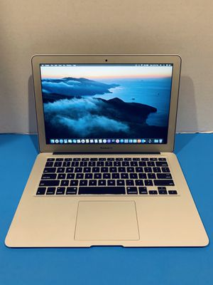2012 Apple MacBook Air laptop • Core i5 • 13in • 128SSD • 4GB • osX Catalina 10.15.5 • Battery + Charger + Office 2016 • Webcam for Sale in Homestead, FL