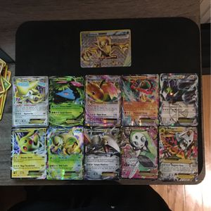 One Break Card One Mega Ex With 9 Ex Pokèmon Cards for Sale in Hughesville, MD