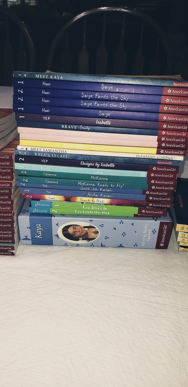 American Girl Books!!