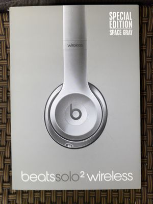 Beats Solo 2 Wireless Space Gray for Sale in Wallingford, CT