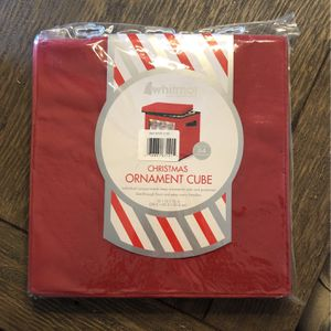 Christmas Ornament Cube for Sale in Spring Valley, CA