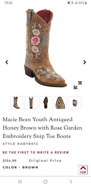 Girls marcie bean boots for Sale in Weslaco, TX