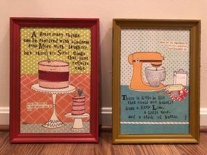 Framed Kitchen Art for Sale in Washington, MD