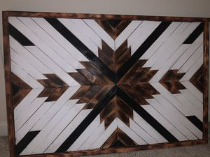 Geometric Wood Wall Art for Sale in Murfreesboro, TN