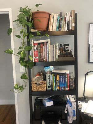 Crate & Barrel Ladder Book Shelf $40 for Sale in New York, NY