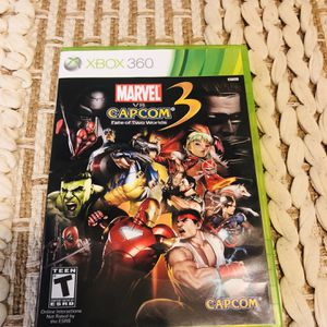 Marvel vs. Capcom 3: Fate of Two Worlds (Microsoft Xbox 360) COMPLETE TESTED for Sale in Woodbridge, VA