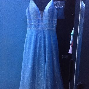Light blue sparkle prom dress for Sale in Pomona, CA