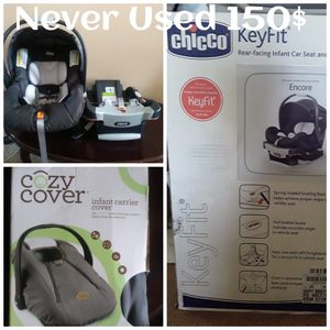 Keyfit Infant Car seat and base. for Sale in Copperas Cove, TX