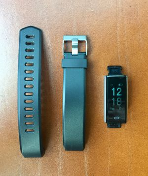 LETSCOM Smart Fitness Tracker Watch - Black (ID115Plus HR) for Sale in Pasadena, CA