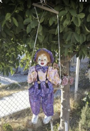 Hanging clown puppet for Sale in San Bernardino, CA