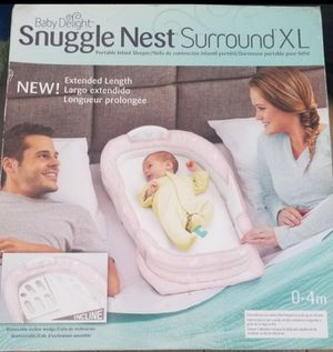 Baby Delight Snuggle Nest portable infant baby sleeper for Sale in South Gate, CA