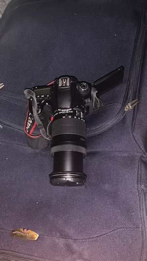 Canon hd 60d with lens for Sale in Alexandria, VA