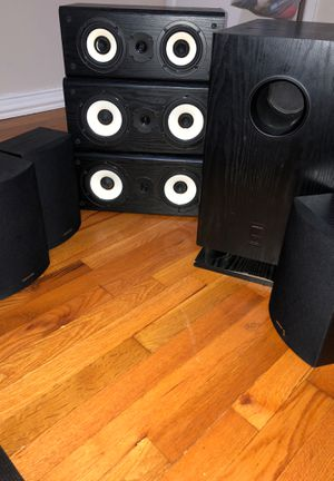 Onkyo speakers model skm-520s for Sale in Hurst, TX