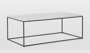 West Elm Marble Top Coffee Table for Sale in Chicago, IL