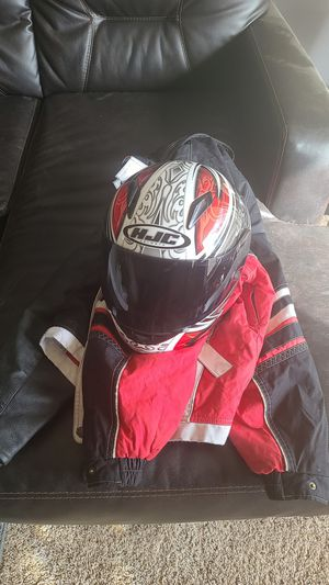 Motorcycle helmet and jackets for Sale in Lakewood, CO
