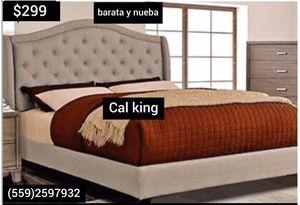 Cal king los colchones son aparte for Sale in Fresno, CA