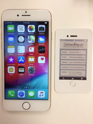 iPhone 8 64GB Verizon/UNLOCKED for Sale in Fort Pierce, FL