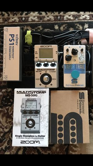 Zoom Ms-50G & Seymour Duncan Vapor Trail for Sale in San Diego, CA