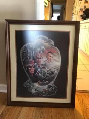 Framed Carol Bourdo signed prints