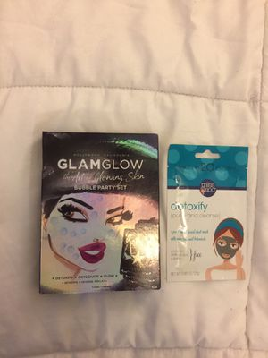 Glam Glow Bubble Face Masks + Miss Spa Detoxify Face Mask for Sale in Clovis, CA
