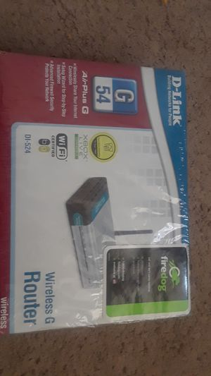 D-Link G54 wireless Router for Sale in Lanham, MD