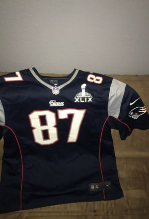 Patriots jersey Gronk for Sale in Fresno, CA