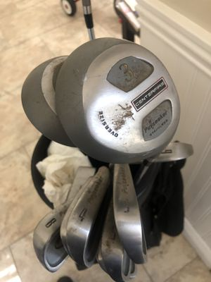 Variety of golf clubs and golf bags for Sale in Cypress, CA