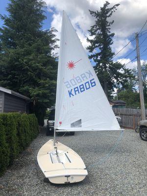 Laser Sailboat for Sale in Black Diamond, WA