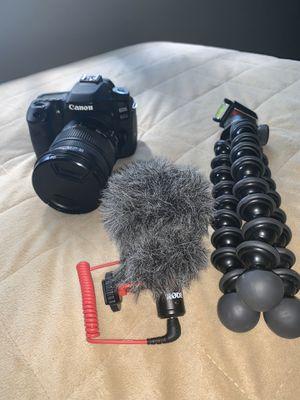 Canon 80D for Sale in San Antonio, TX