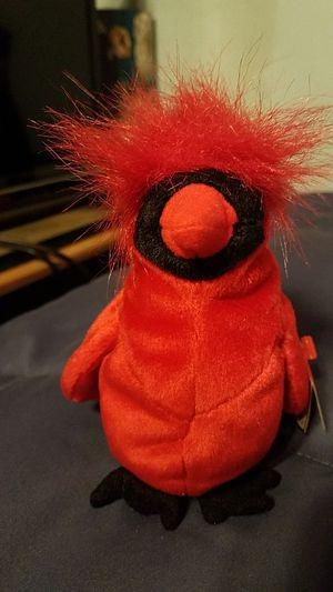 Beanie Baby Mac the red cardinal for Sale in Campbell, CA