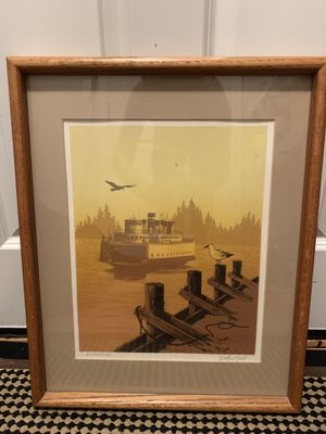 Framed print for Sale in Bothell, WA