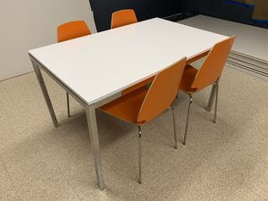 Table with 4 chairs, can be used in dining room, office, bought at Ikea for Sale in NW PRT RCHY, FL