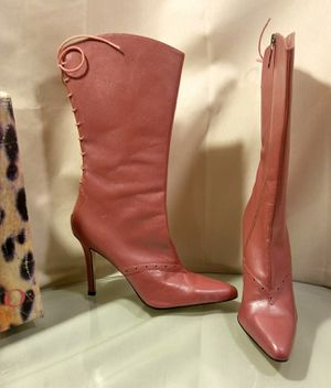 Mauve High Heel Boots by X O X O Size 8 for Sale in St. Louis, MO