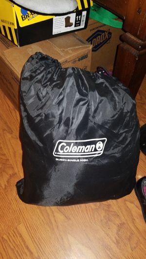 Coleman queen size blow up mattress used 3 times still like new for Sale in Byron, GA