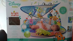 Disney Baby Finding Nemo Mr. ray Ocean Lights and Music Gym for Sale in Las Vegas, NV