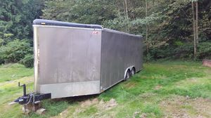 20 foot Cargo Trailer Plus V-nose for Sale in Auburn, WA