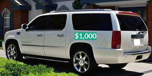 $1.000 2OO8 Cadillac Escalade Clean Tittle!Runs and Drives great.Nice Family car!one owner!🔑🔑 for Sale in Washington, DC