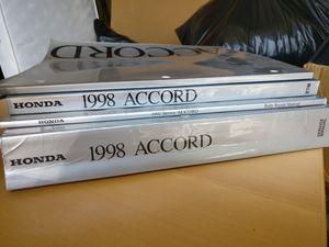 1998 Honda Accord Service Manuals for Sale in Renton, WA