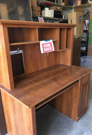 Desk with Hutch. Free for Sale in Gurnee, IL