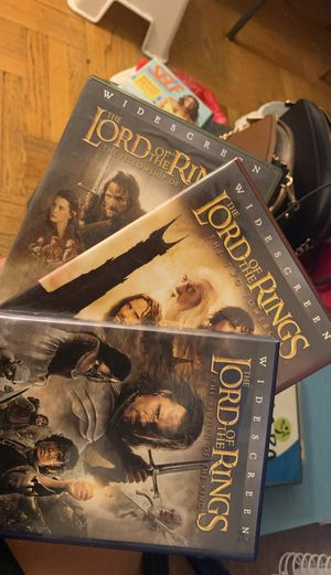 Lord of the Rings Trilogy for Sale in Queens, NY