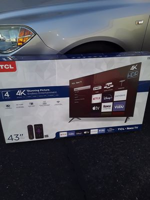 ****BRAND NEW 43 INCH TCL ROKU TV****,,, for Sale in Mesa, AZ