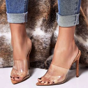 Majesty Sexy High Heels Clear open Toe for Sale in Ontario, CA