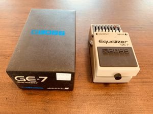 Boss GE-7 equalizer for Sale in Battle Ground, WA