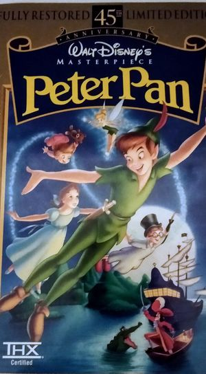 Disney's Peter Pan, VHS for Sale in Tampa, FL