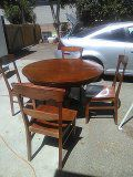 Dining room table and 4 chairs for Sale in US