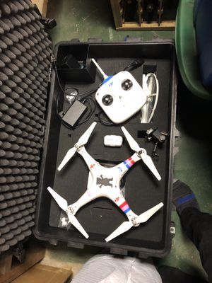 Phantom 2 DJI drone comes with Gimbal and Pelican case for Sale in Lodi, CA