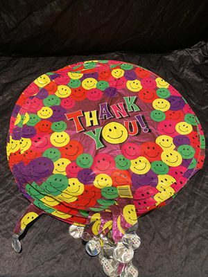 "21- 18"" Smiley Faces Thank you Balloons for Sale in Kissimmee, FL"
