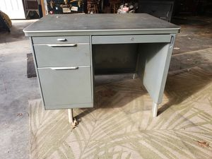 Metal Tanker Mid Century Modern Desk for Sale in Rocky Mount, VA